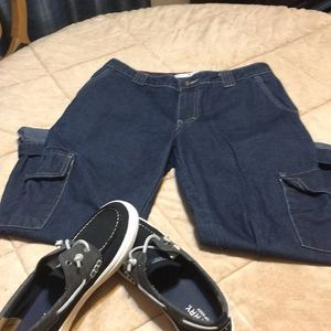 Tommy Hilfiger Jeans Cuffed Capris